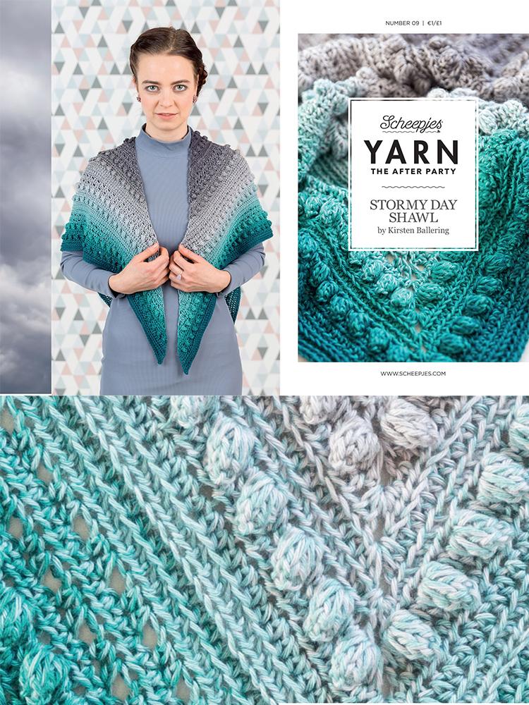 Scheepjes Crochet Pattern 09: Stormy Day Shawl product image