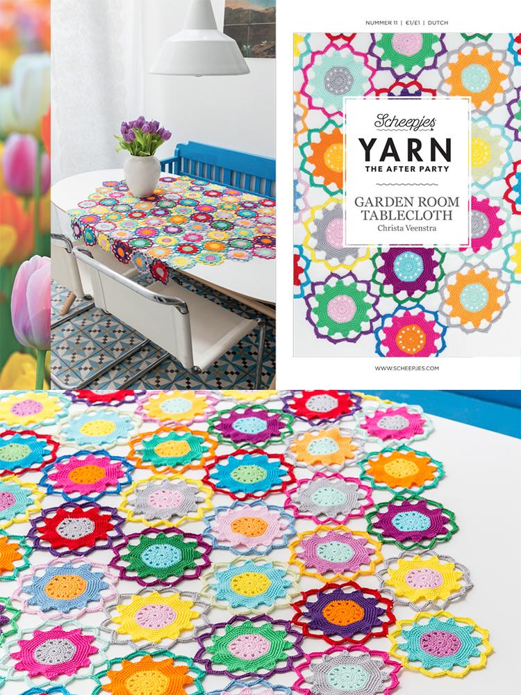 Scheepjes Crochet Pattern 11: Garden Room Tablecloth product image