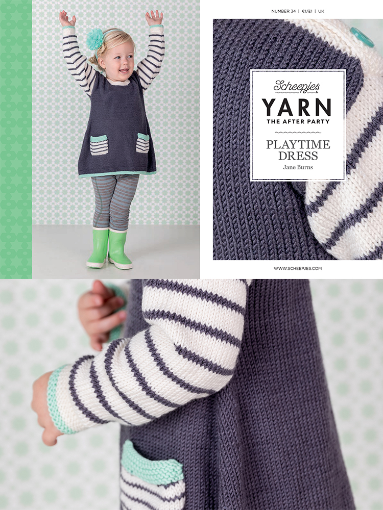 Scheepjes Knitting Pattern 34: Playtime Dress product image