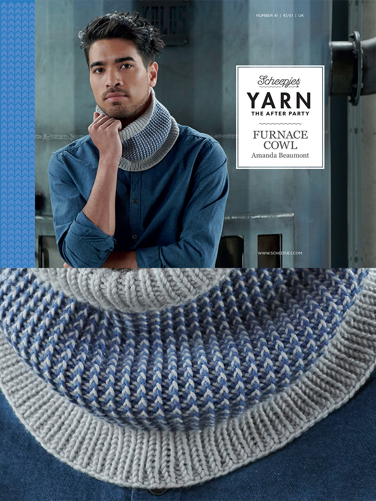 Scheepjes Knitting Pattern 41: Furnace Cowl product image