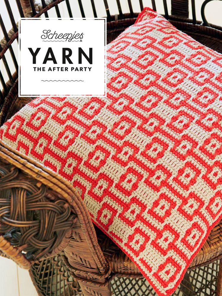 Scheepjes Crochet Pattern 46: Electric Dreams Cushion product image