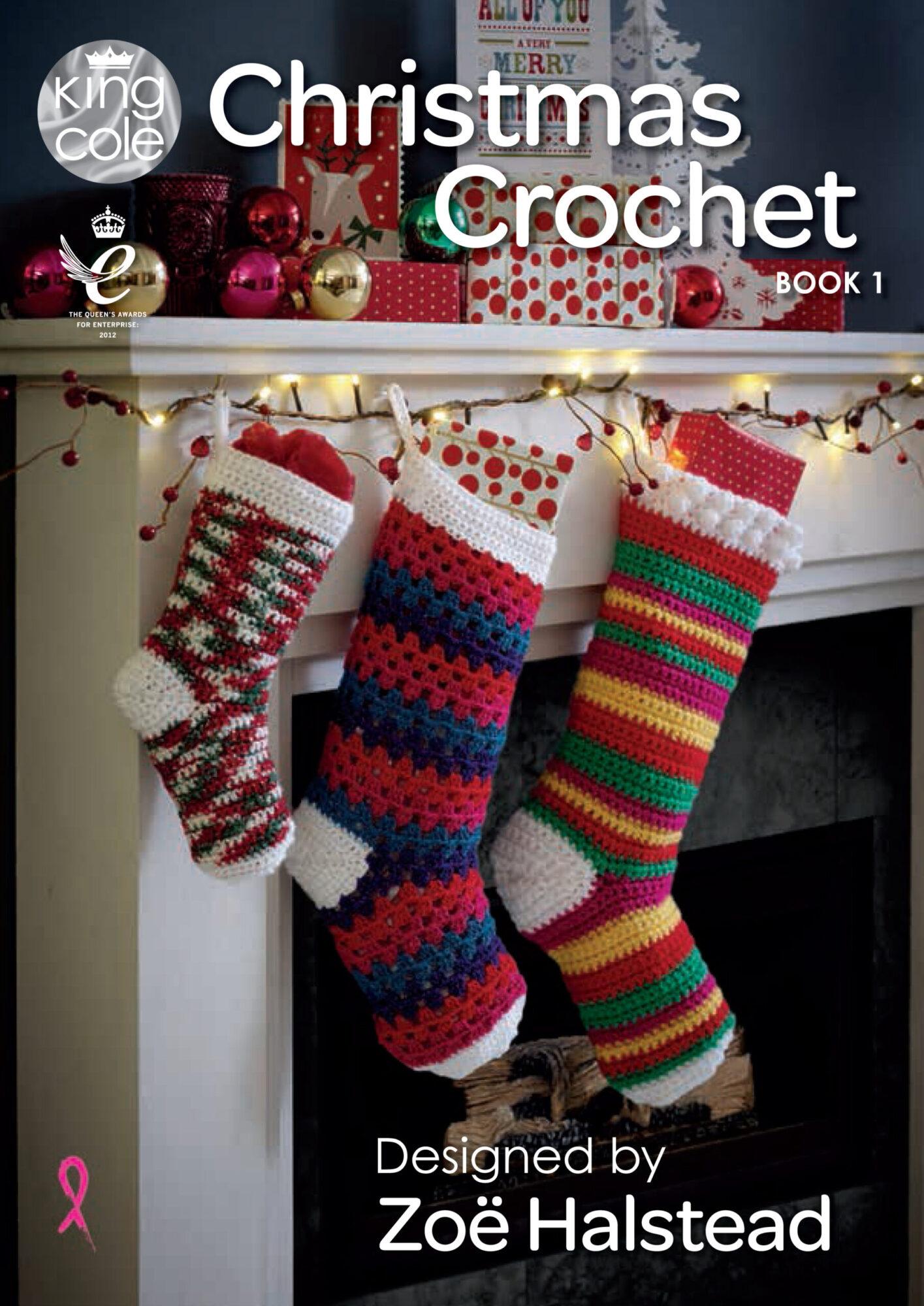 King Cole Christmas Crochet – Book 1 product image