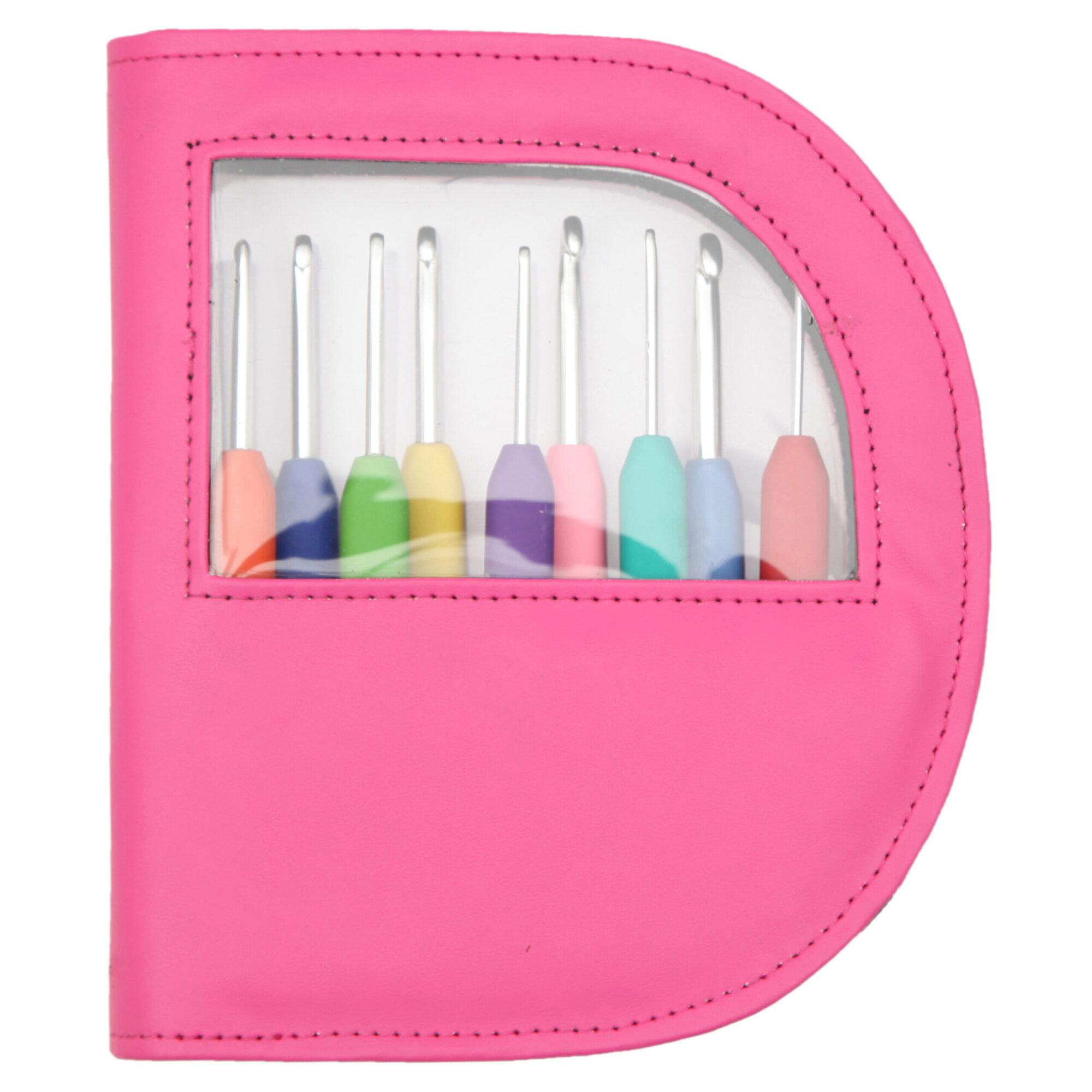 KnitPro – Waves Crochet Hook Set (Pink) product image
