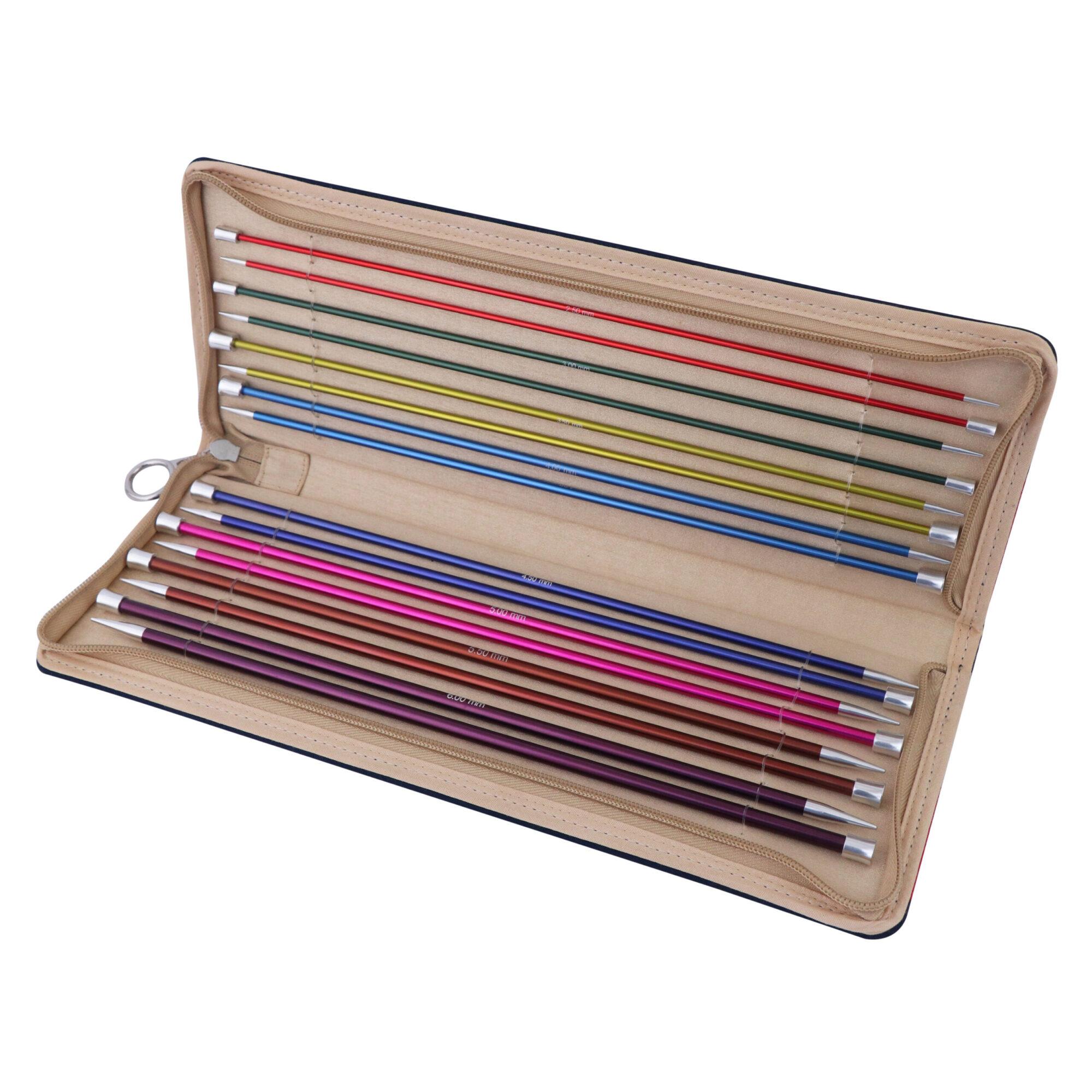 KnitPro – Zing Single Pointed Needle Set (30cm) product image