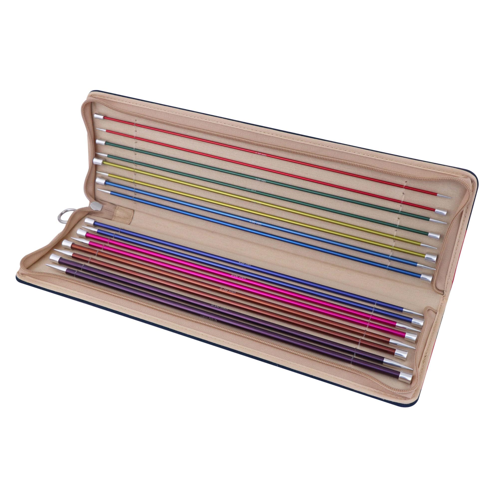 KnitPro – Zing Single Pointed Needle Set (35cm) product image