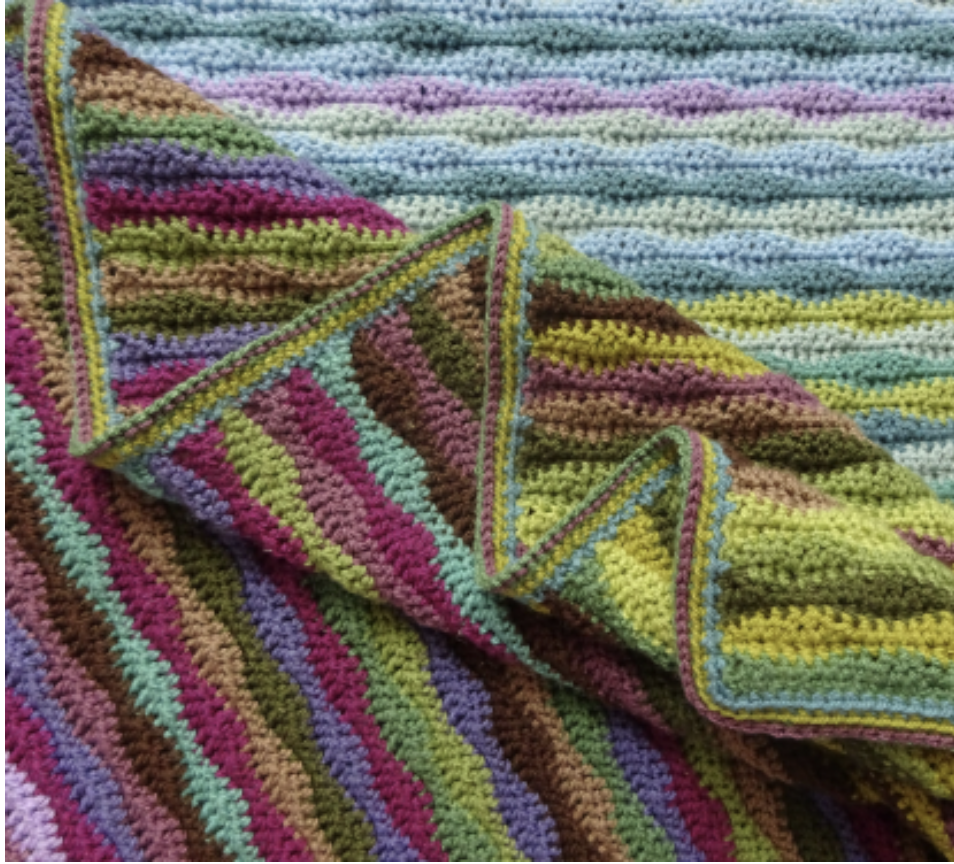Attic24 Moorland Crochet Blanket Kit (Yarn Only) product image