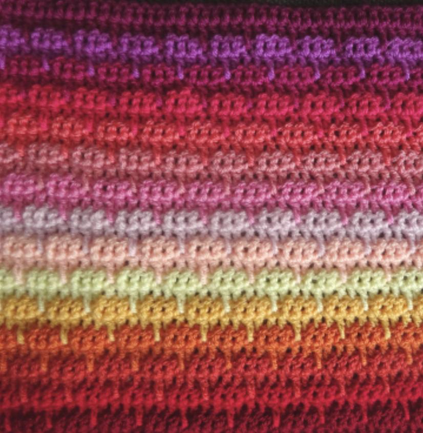 Attic24 Dahlia Crochet Blanket Kit (Yarn Only) product image