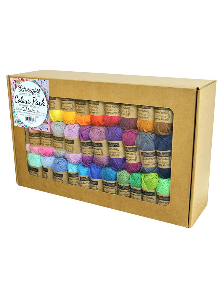 Scheepjes Cahlista Colour Pack product image