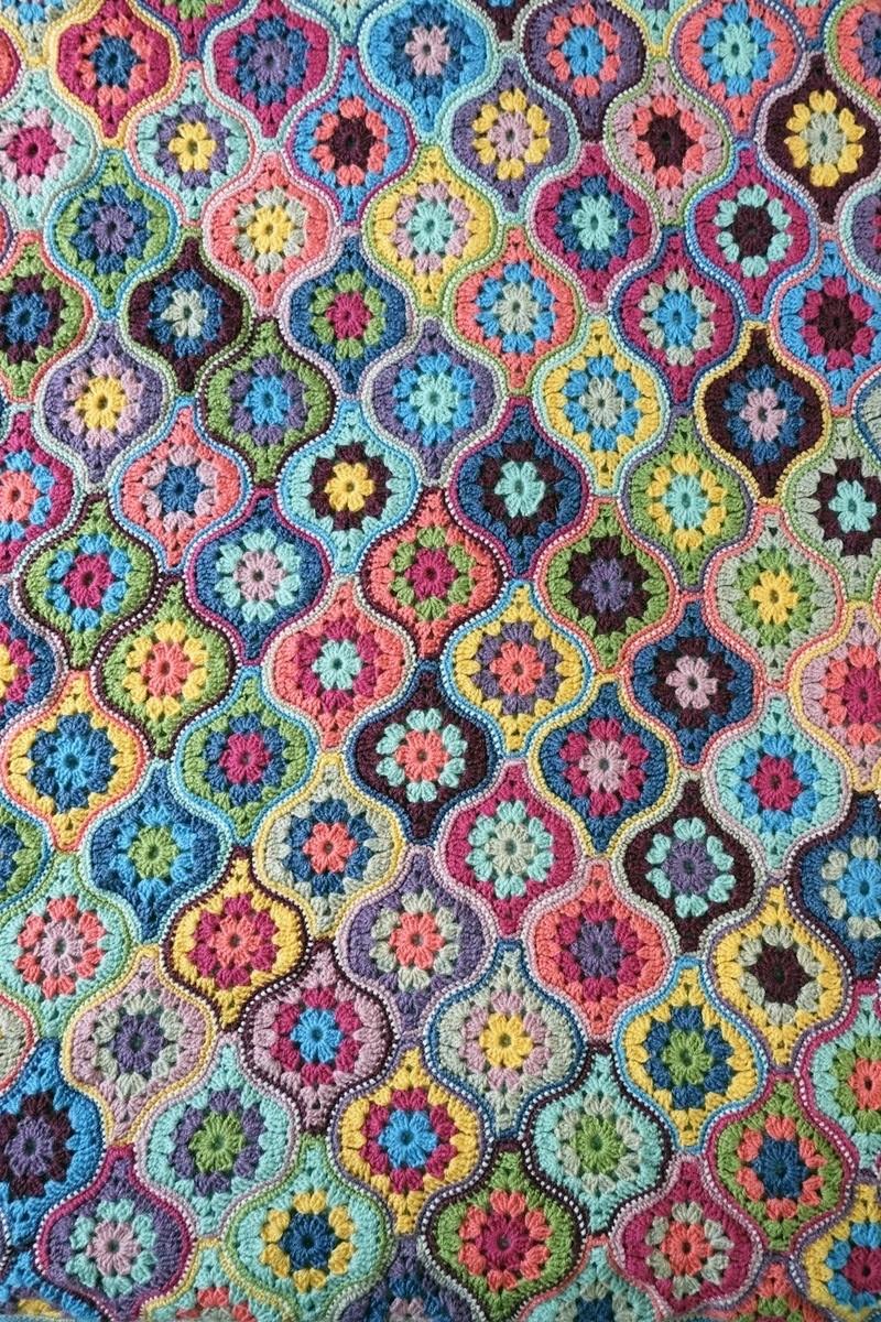 Mystical Lanterns Blanket Kit – Janie Crow (Yarn Only) product image