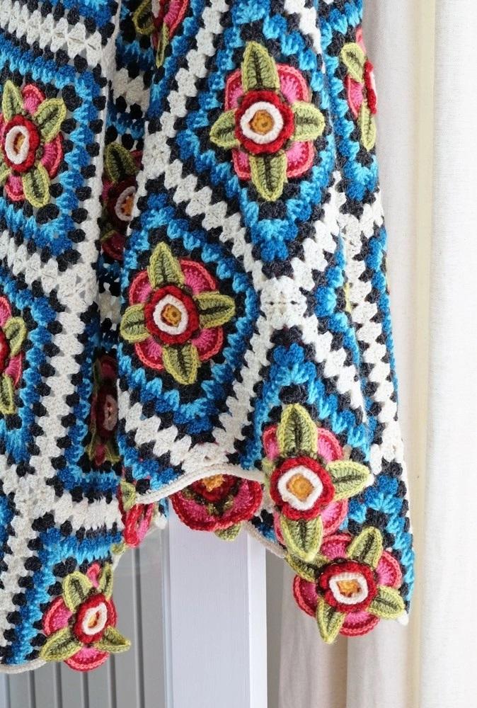 Mexican Diamonds Crochet Blanket Pattern – Janie Crow product image