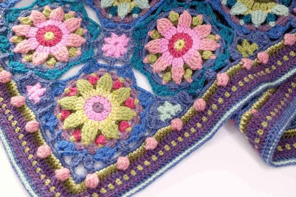 Summer Palace Blanket Pattern – Janie Crow product image
