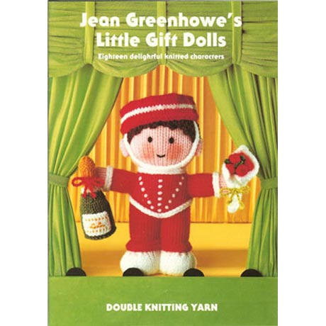 Jean Greenhowe's Knitted Little Gift Dolls Pattern Book product image