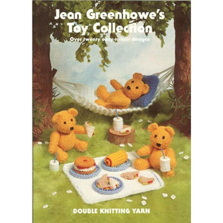 Jean Greenhowe's Toy Collection Pattern Book product image