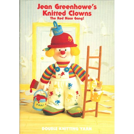 Jean Greenhowe's Knitted Clowns Pattern Book product image