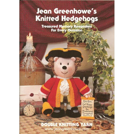 Jean Greenhowe's Knitted Hedgehogs Pattern Book product image