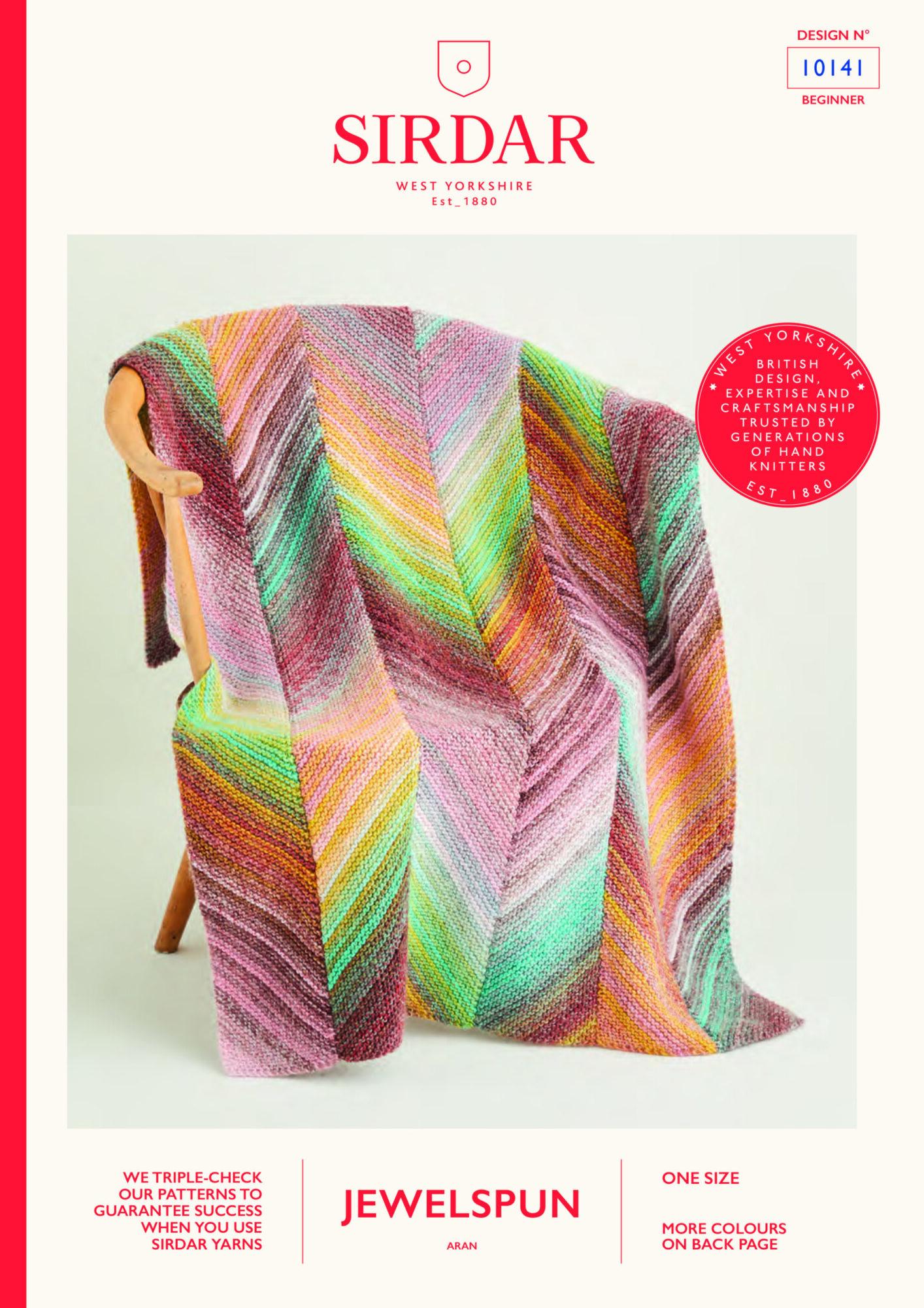 Sirdar Pattern Jewelspun  10141 (Download) product image
