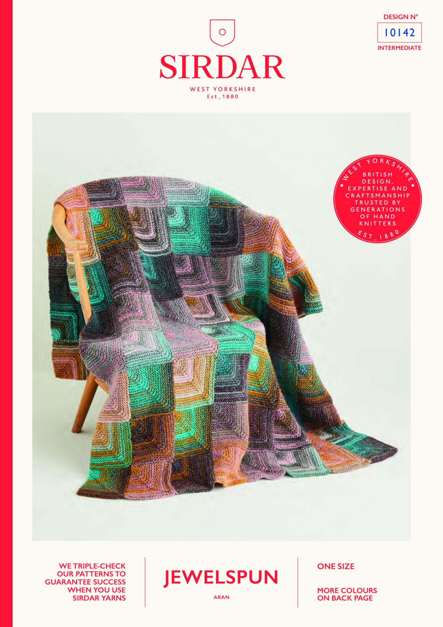Sirdar Pattern Jewelspun  10142 (Download) product image