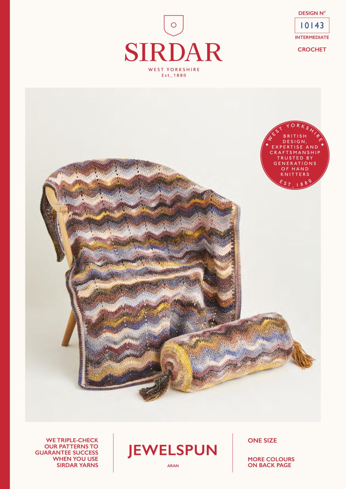 Sirdar Pattern Jewelspun  10143 (Download) product image