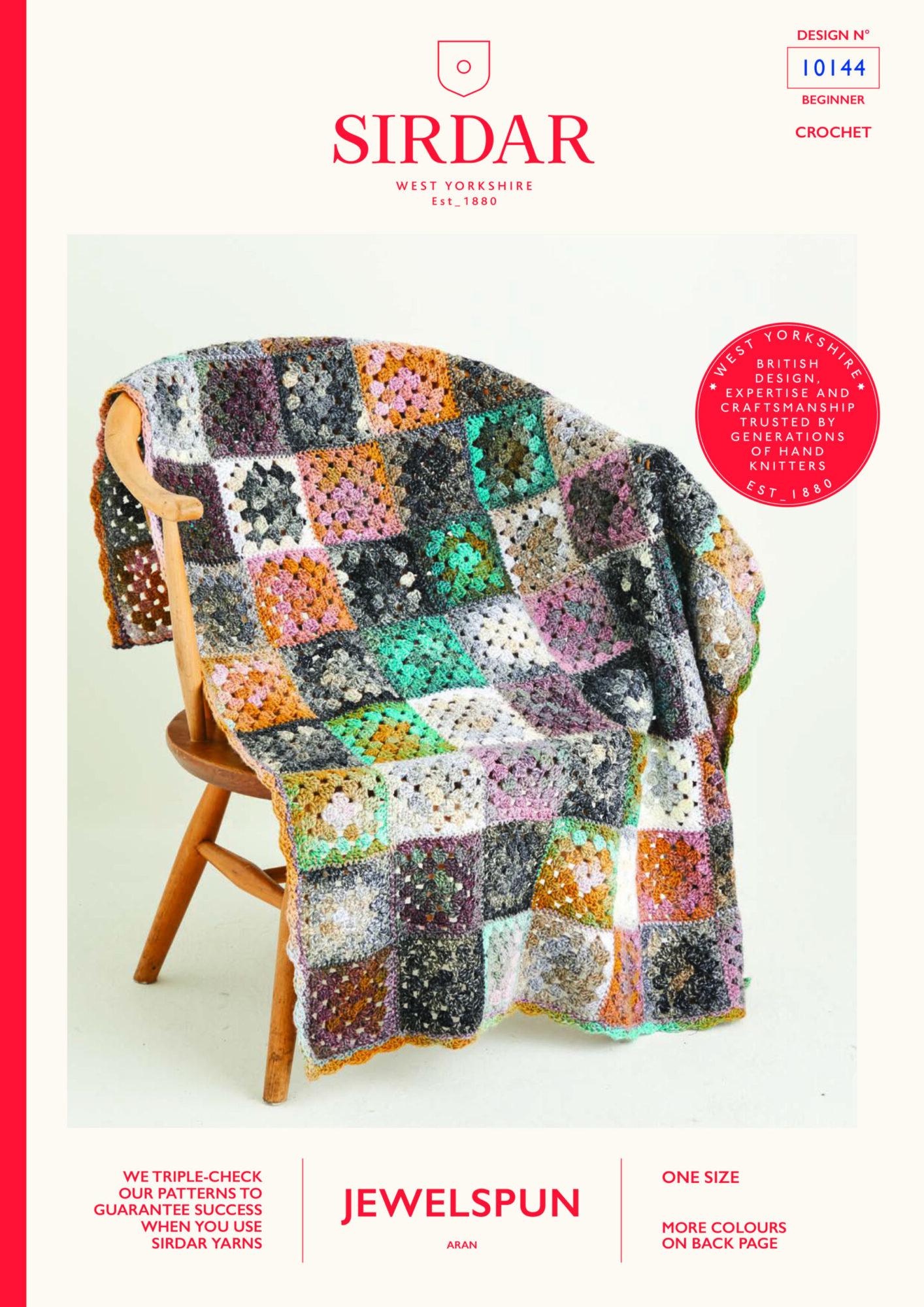 Sirdar Pattern Jewelspun  10144 (Download) product image