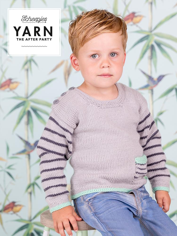 Scheepjes Knitting Pattern 22: Dino Hunter Sweater product image