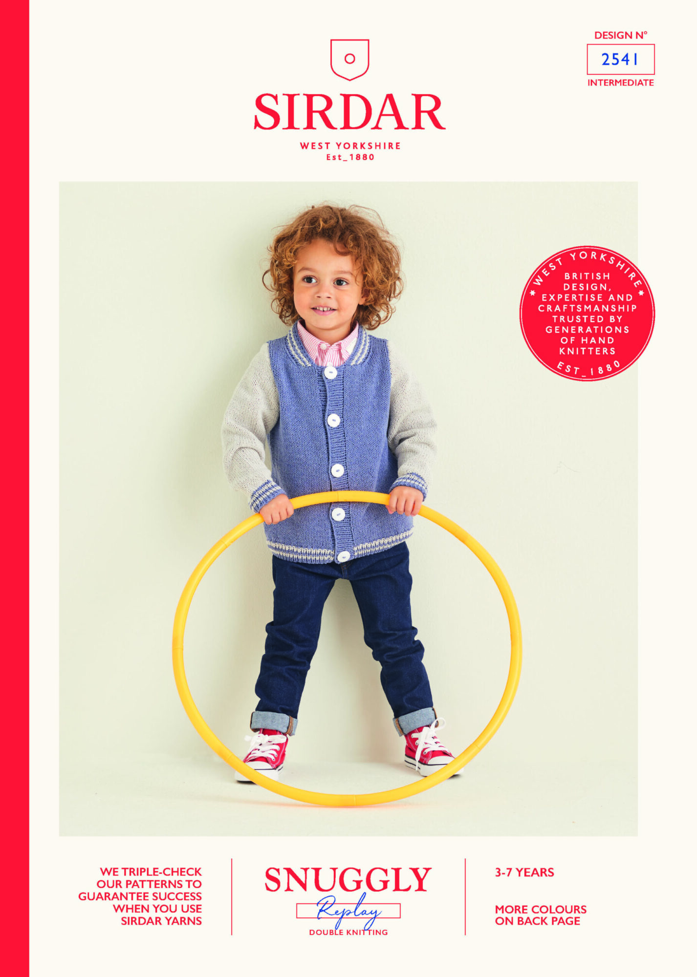 Sirdar Pattern Replay 2541 (DOWNLOAD) product image