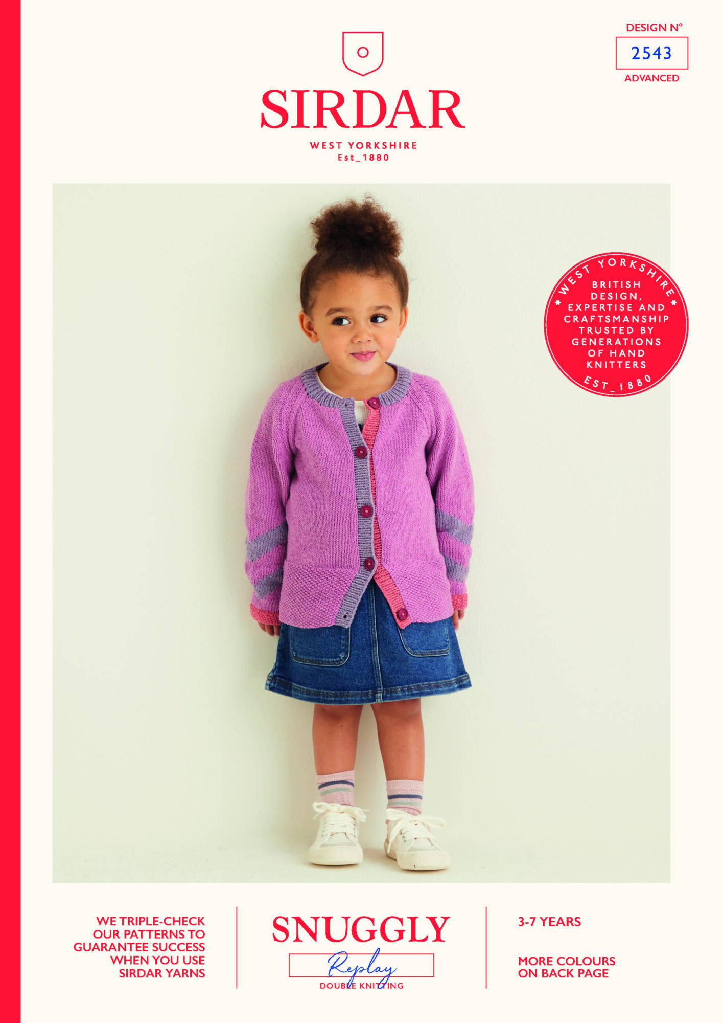 Sirdar Pattern Replay 2543 (Download) product image