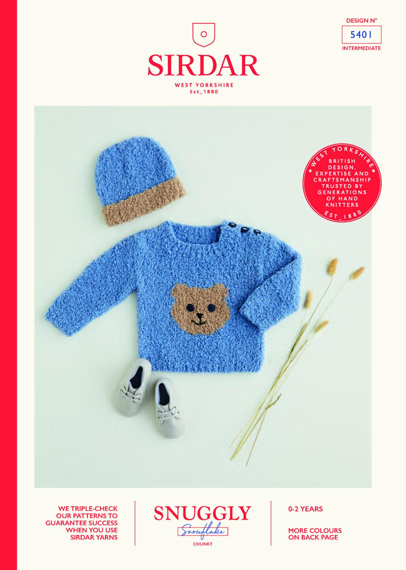 Sirdar Pattern Snowflake  5401 (Download) product image