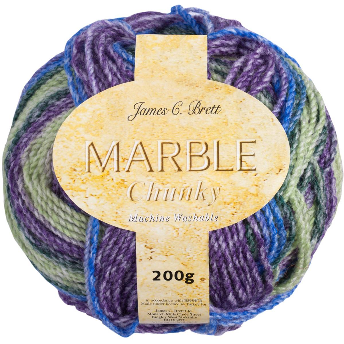 James C Brett Marble Chunky product image