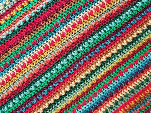 Attic24 Yuletide Crochet Blanket Kit (Yarn Only) product image