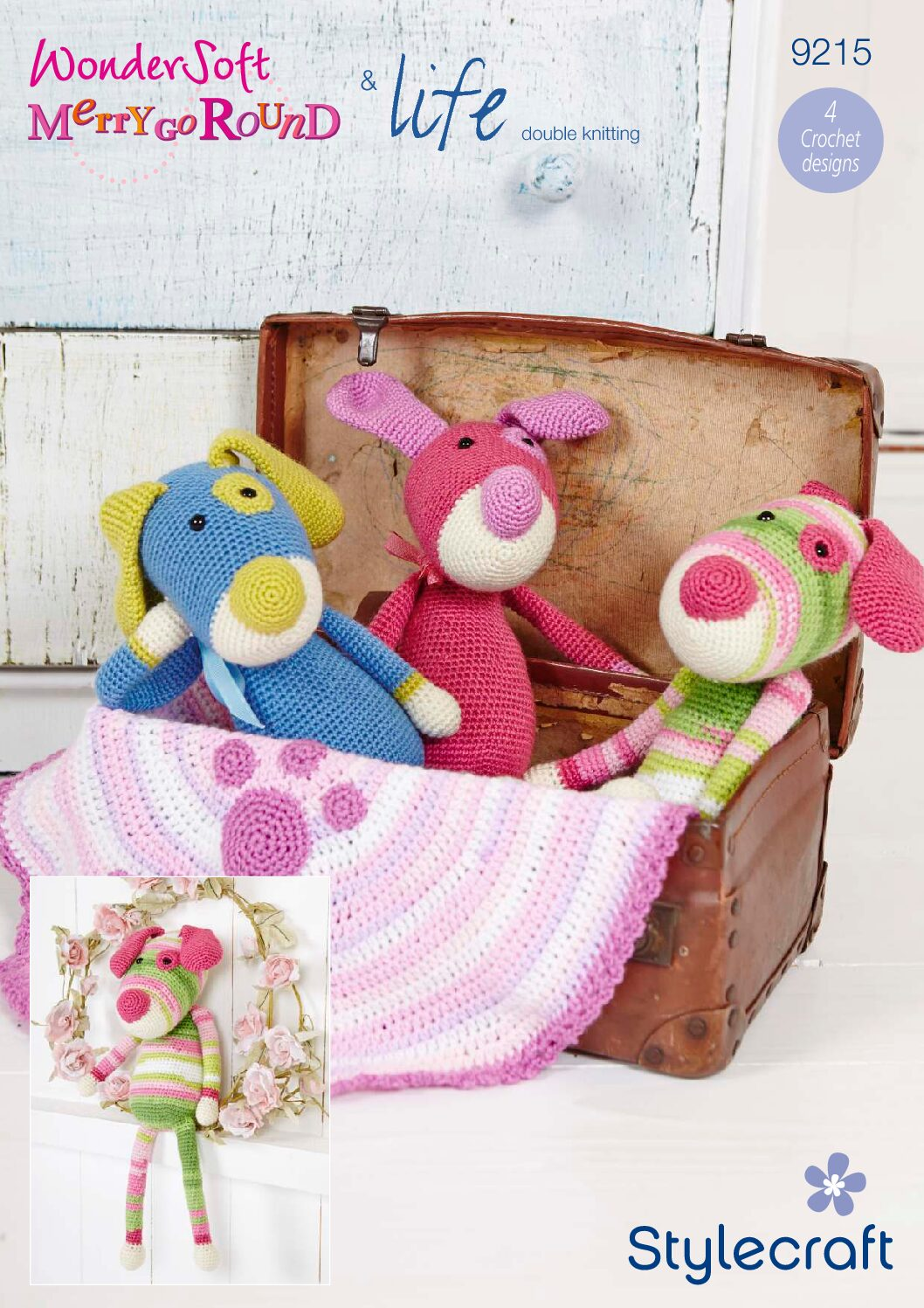 Stylecraft Pattern Toys 9215 (download) product image