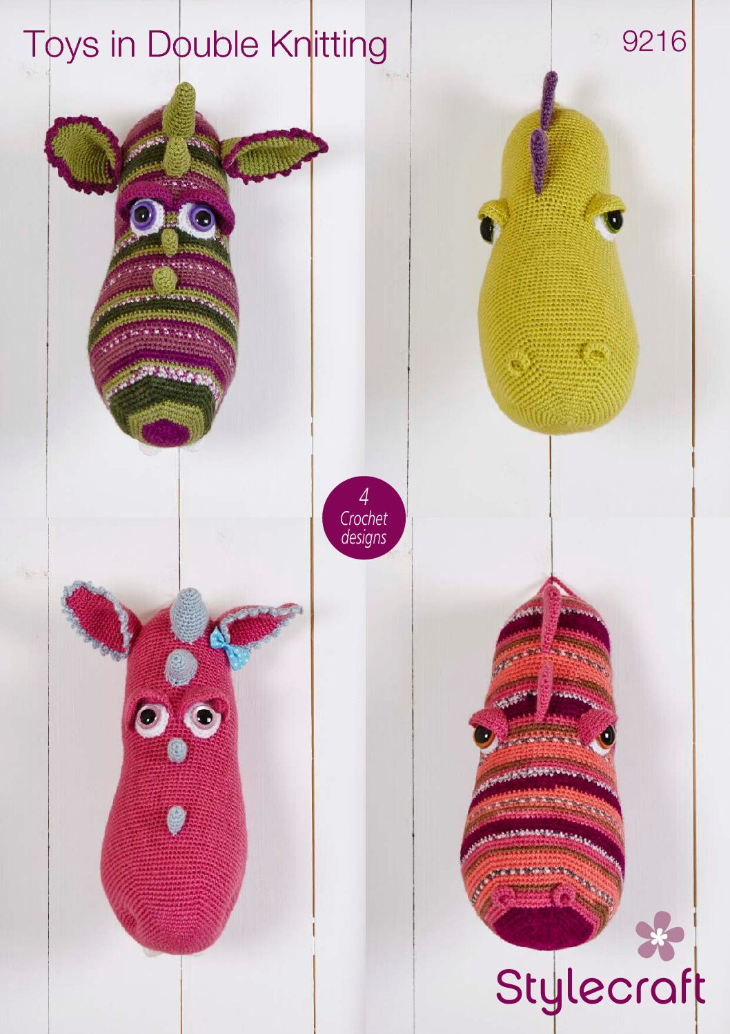 Stylecraft Pattern Toys 9216 (download) product image