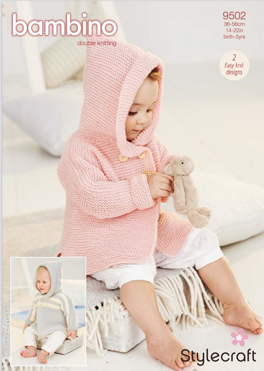 Stylecraft Pattern Bambino DK 9502 (download) product image