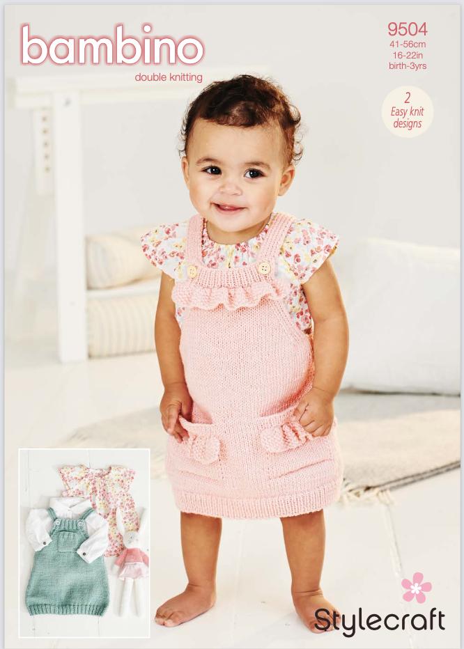 Stylecraft Pattern Bambino DK 9504 (download) product image
