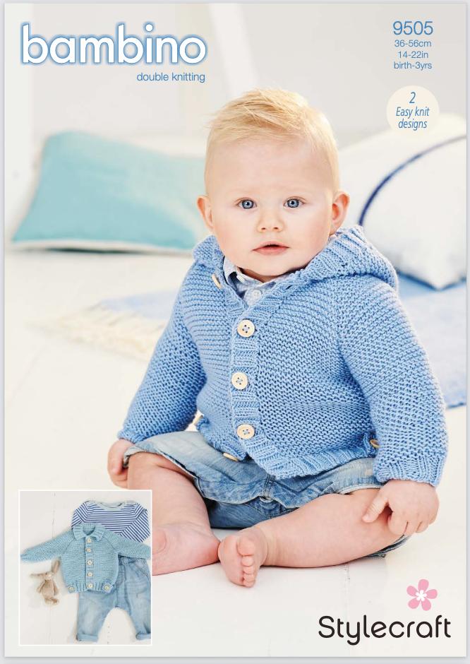 Stylecraft Pattern Bambino DK 9505 (download) product image