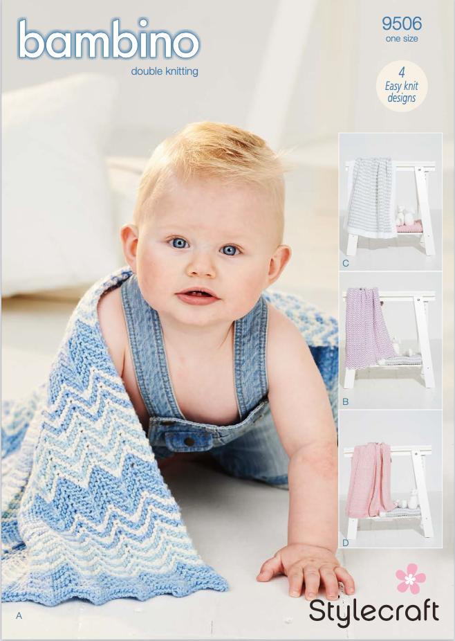 Stylecraft Pattern Bambino DK 9506 (download) product image