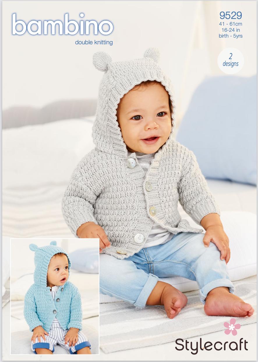 Stylecraft Pattern Bambino DK 9529 (download) product image