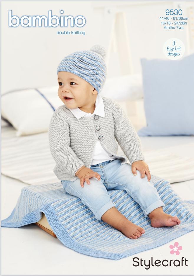 Stylecraft Pattern Bambino DK 9530 (download) product image