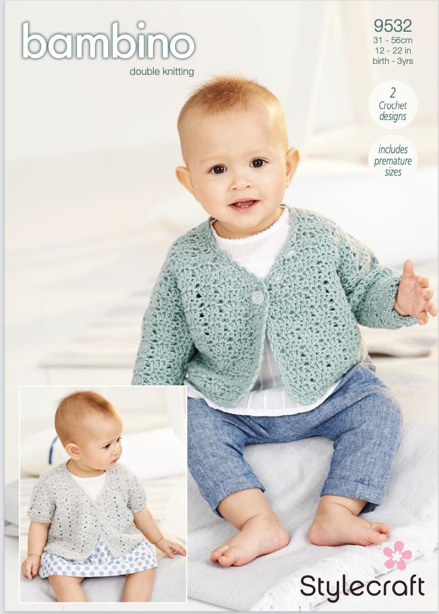 Stylecraft Pattern Bambino DK 9532 (download) product image