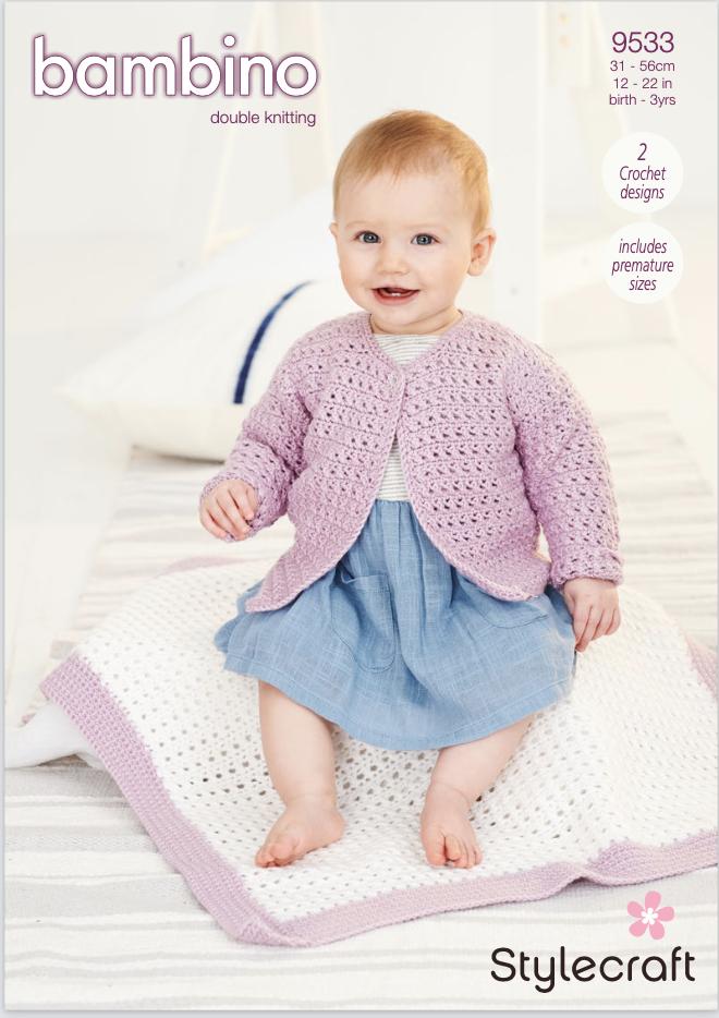 Stylecraft Pattern Bambino DK 9533 (download) product image