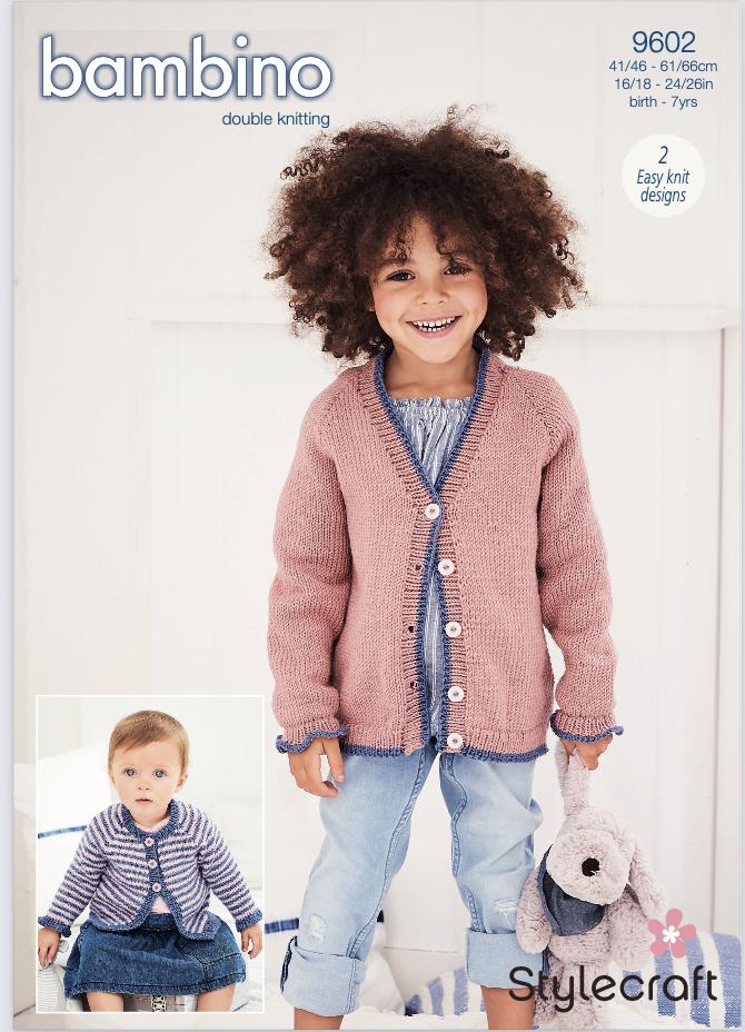 Stylecraft Pattern Bambino DK 9602 (download) product image