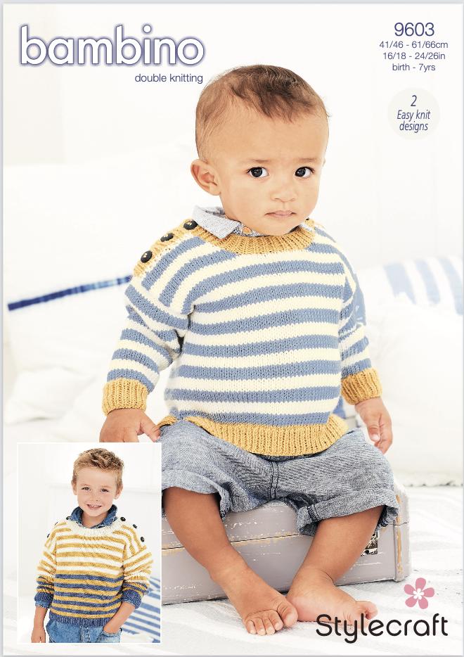 Stylecraft Pattern Bambino DK 9603 (download) product image