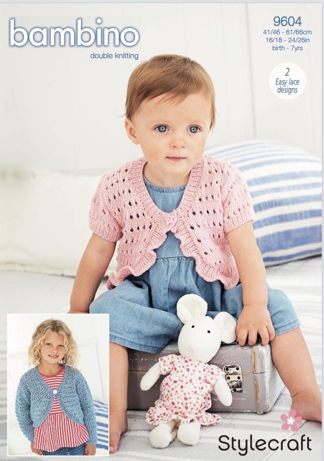 Stylecraft Pattern Bambino DK 9604 (download) product image