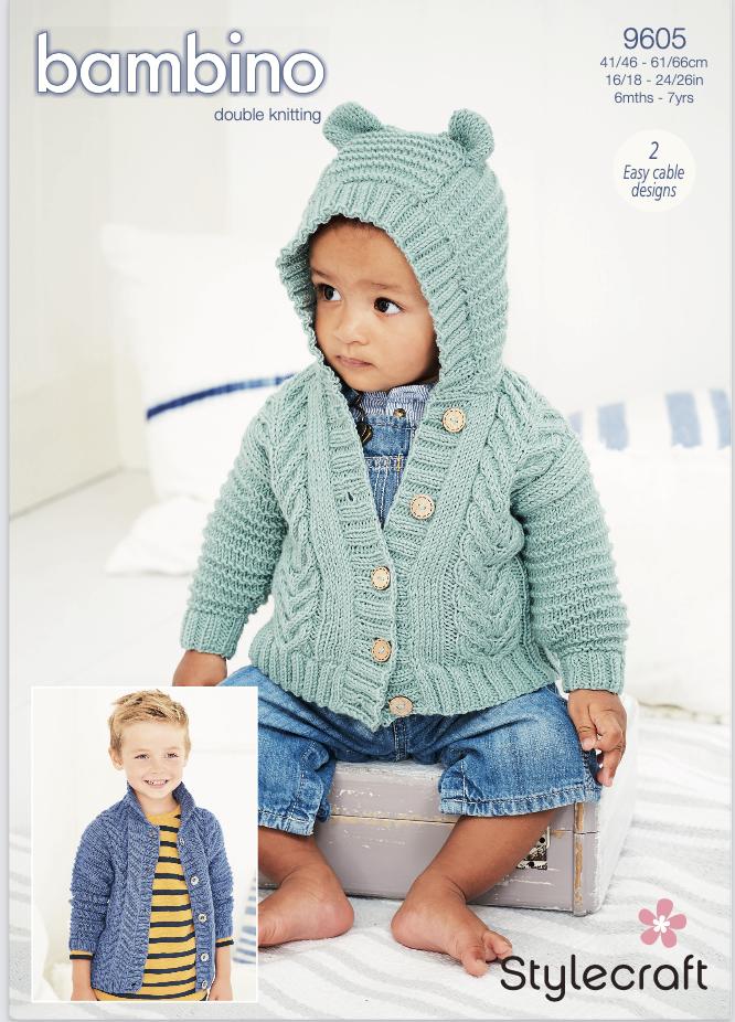 Stylecraft Pattern Bambino DK 9605 (download) product image