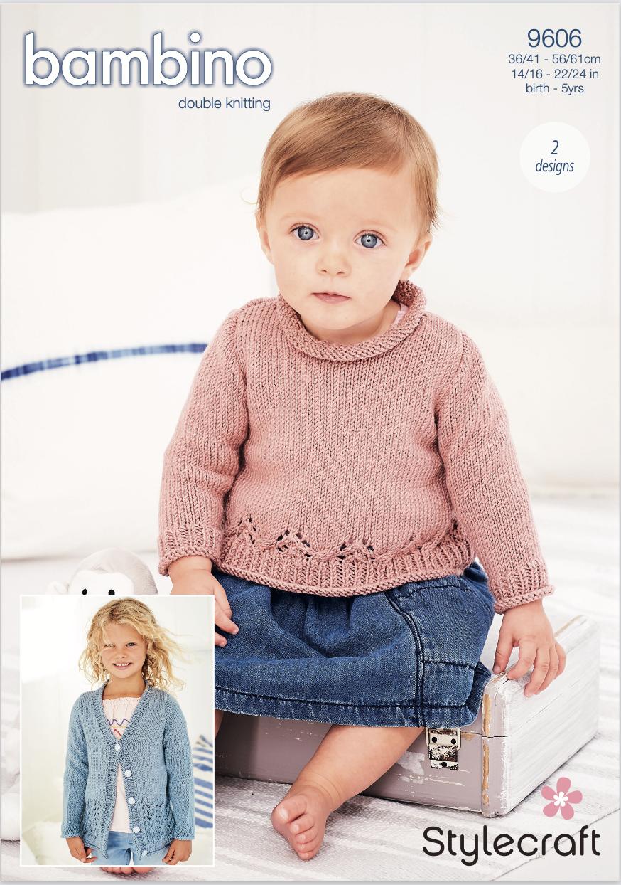 Stylecraft Pattern Bambino DK 9606 (download) product image