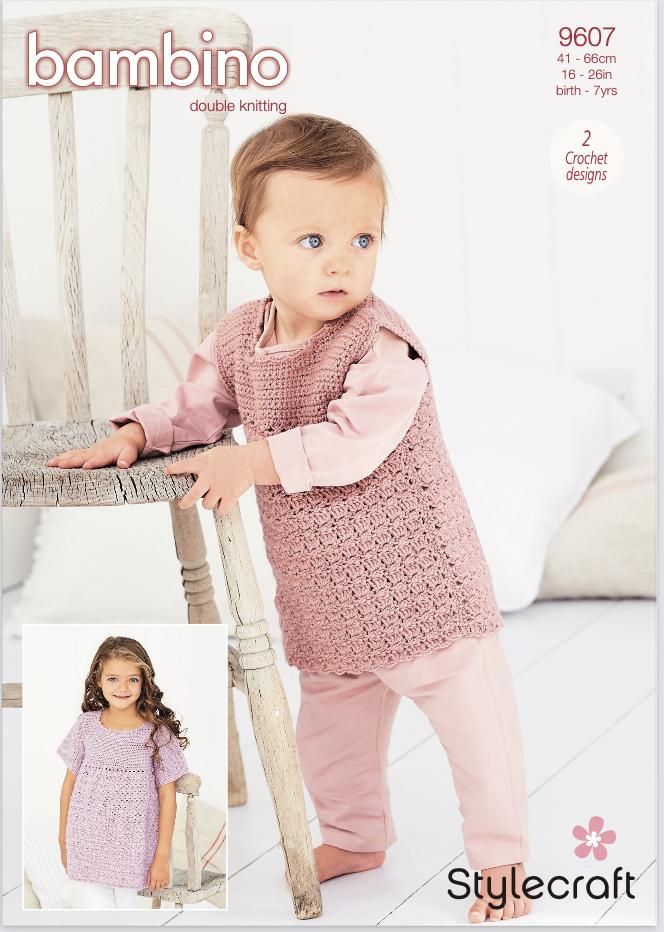 Stylecraft Pattern Bambino DK 9607 (download) product image