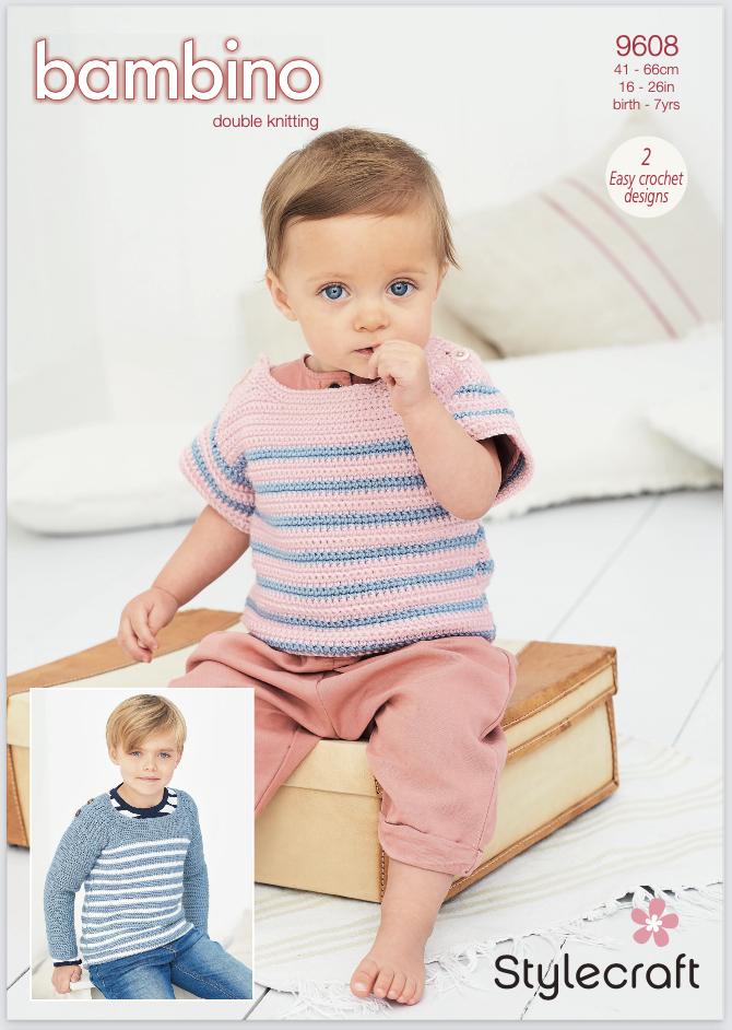 Stylecraft Pattern Bambino DK 9608 (download) product image
