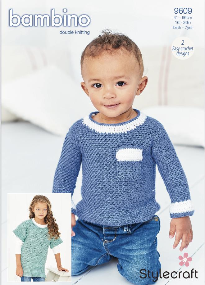 Stylecraft Pattern Bambino DK 9609 (download) product image