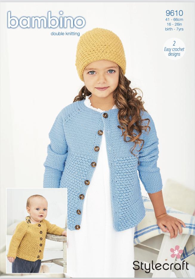 Stylecraft Pattern Bambino DK 9610 (download) product image