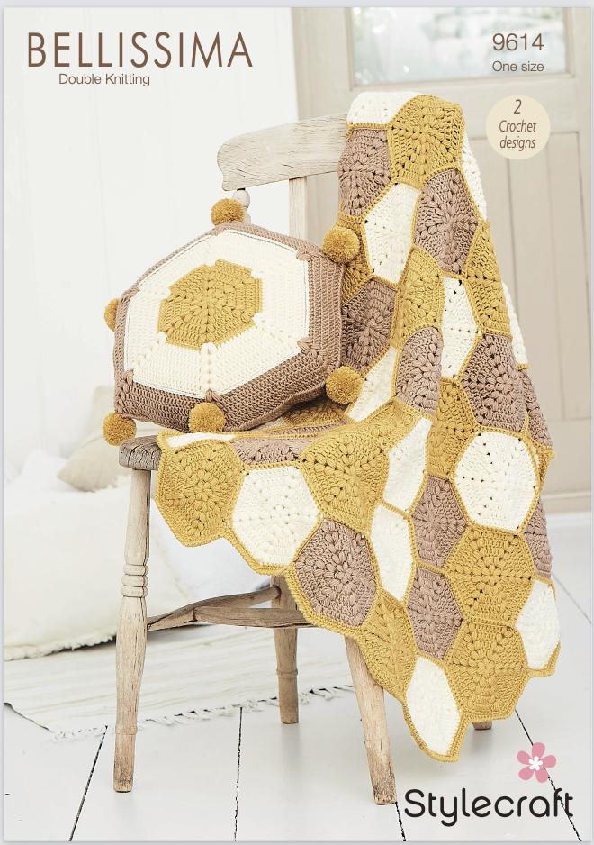 Stylecraft Pattern Bellissima DK 9614 (download) product image