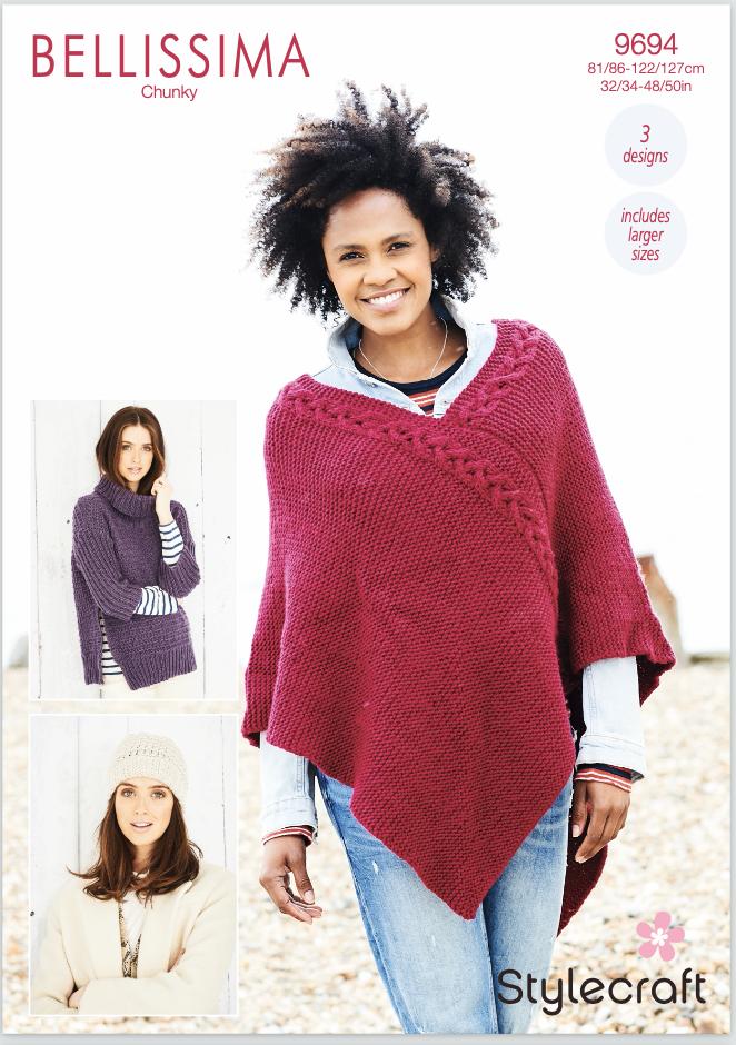 Stylecraft Pattern Bellissima Chunky 9694 (download) product image